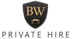 BW Private hire badge icon with Private Hire